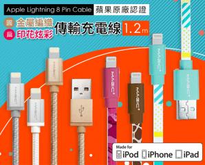 蘋果原廠認證傳輸充電線,限時4.0折,今日結帳再享加碼折扣