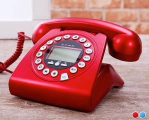 防盜來電顯示仿古電話,限時6.7折,今日結帳再享加碼折扣