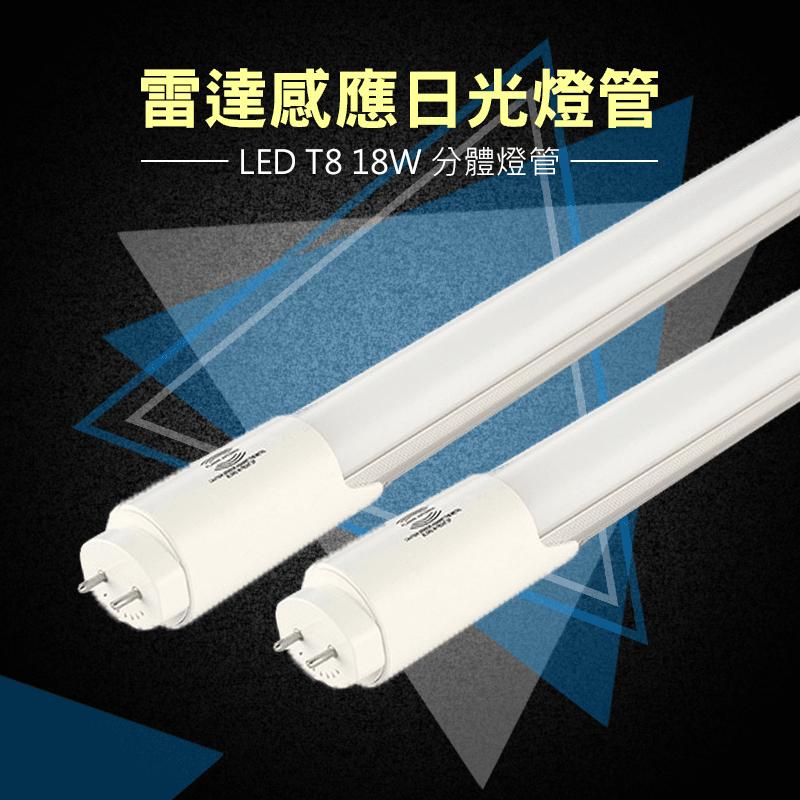 T8超亮LED雷達感應燈管,今日結帳再打85折!