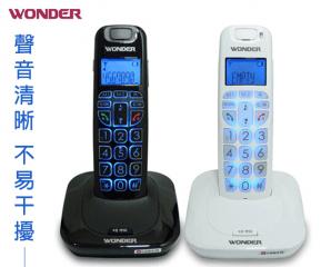 旺德DECT數位無線電話,限時5.1折,今日結帳再享加碼折扣