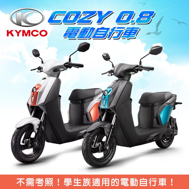KYMCO光陽機車COZY電動自行車EE10AA/EE10AB/EE10AC,本檔全網購最低價!