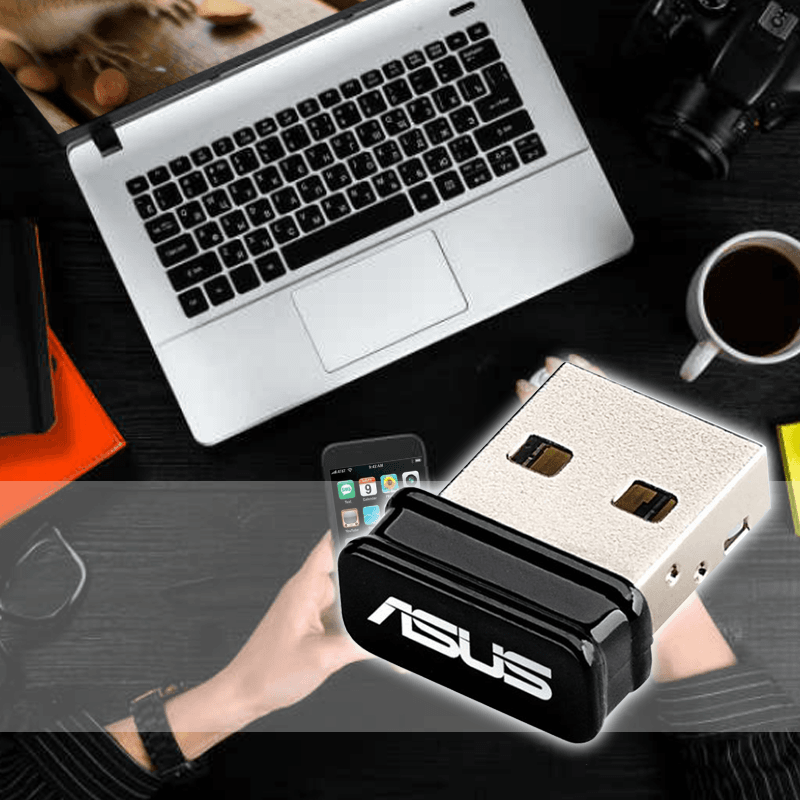 ASUS華碩NANO USB無線網卡USB-N10 NANO,限時9.0折,請把握機會搶購!