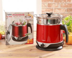 Fujitek 富士電通即時快煮美食鍋FT-PNA01,今日結帳再打88折