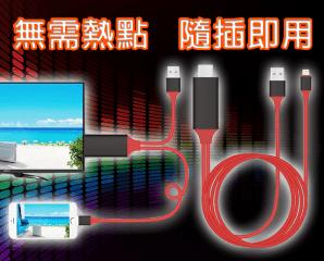 蘋果高清HDMI影音傳輸線,限時5.3折,今日結帳再享加碼折扣