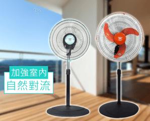 MIT皇瑩360度旋轉風扇,限時9.0折,今日結帳再享加碼折扣