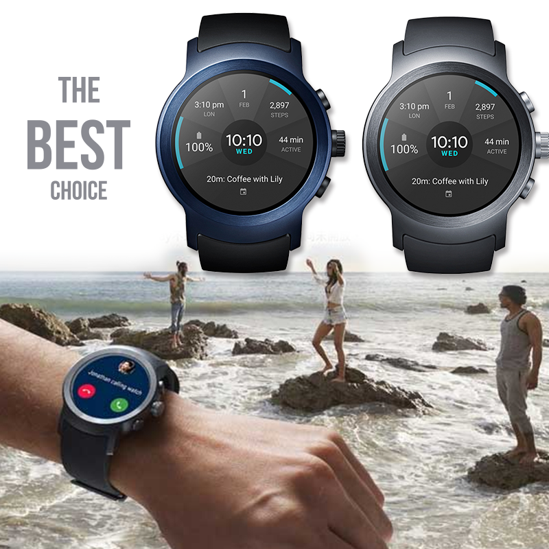 LG Watch Sport智慧手表(W281),限时8.4折,请把握机会抢购!