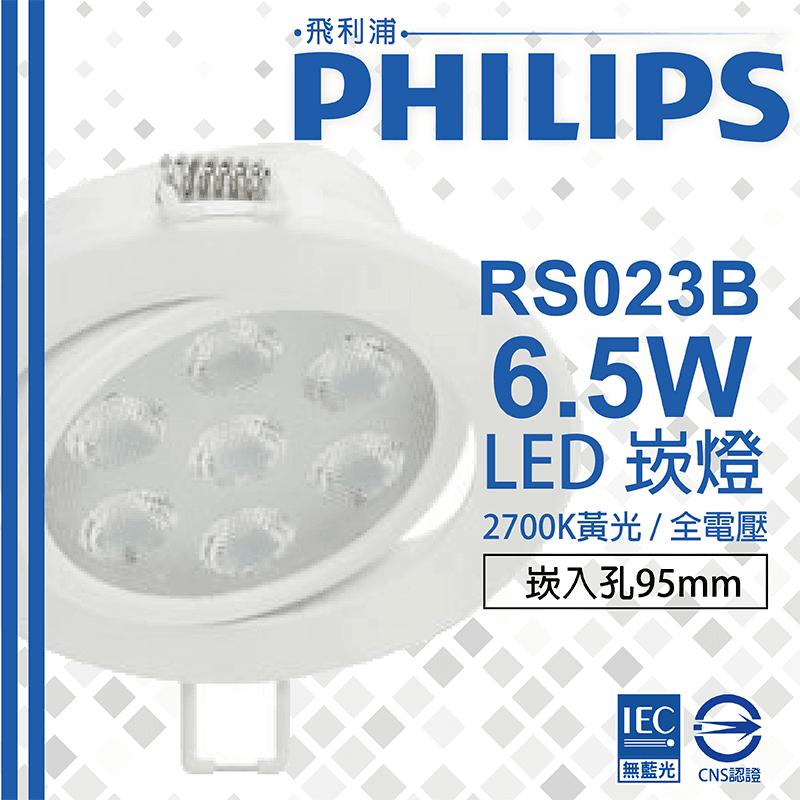 PHILIPS全電壓LED崁燈,限時破盤再打82折!