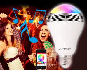 遙控LED氣氛燈藍牙喇叭,限時4.8折,今日結帳再享加碼折扣