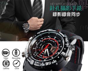 高畫質防潑水錄影音手錶,限時3.4折,今日結帳再享加碼折扣