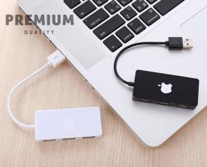 Osun蘋果4孔USB分線器,限時4.5折,今日結帳再享加碼折扣