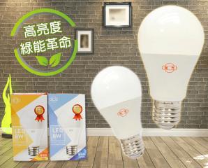 旭光新高亮度8W LED燈泡,限時5.0折,今日結帳再享加碼折扣