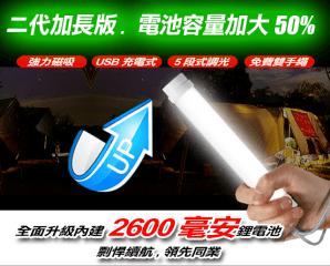 新加長超亮LED磁吸燈管,限時2.2折,今日結帳再享加碼折扣