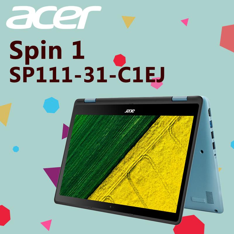 Acer四核心觸控筆電500G(SP111-31-C1EJ),限時9.6折,請把握機會搶購!