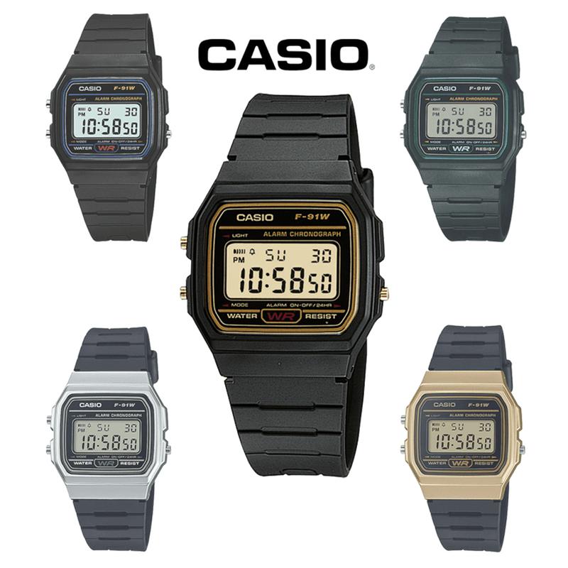 CASIO复古方型电子表,限时8.0折,请把握机会抢购!