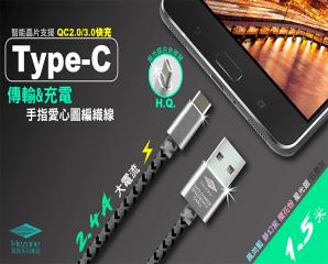 Type-C鋁合金傳輸充電線,限時1.7折,今日結帳再享加碼折扣