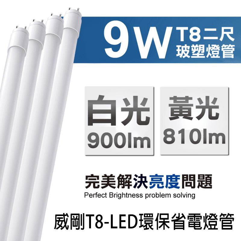 ADATA 威剛 T8-LED環保省電燈管,今日結帳再打85折!