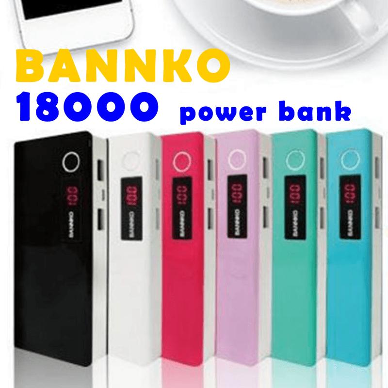 bannko LED雙USB大容量行動電源M8,今日結帳再打85折!