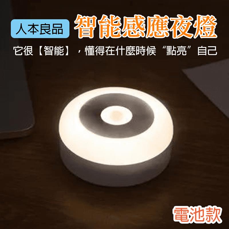 LED智能人體感應小夜燈,今日結帳再打85折!