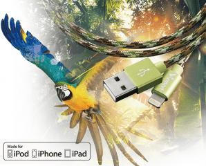 蘋果MFi認證編織傳輸線,限時4.8折,今日結帳再享加碼折扣