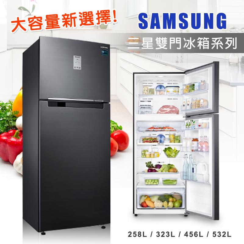 Samsung三星美型雙門冰箱系列,本檔全網購最低價!