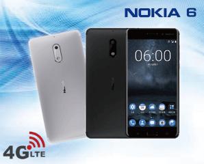 Nokia 6八核LTE智慧手機(TA-1003),限時9.6折,請把握機會搶購!