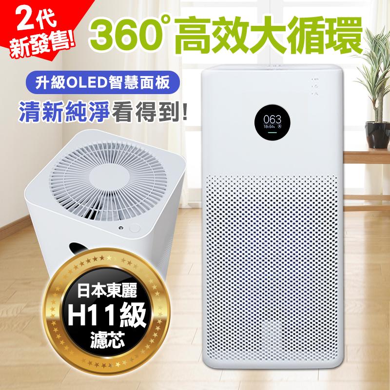 小米高效空氣清淨機2s,限時7.4折,請把握機會搶購!
