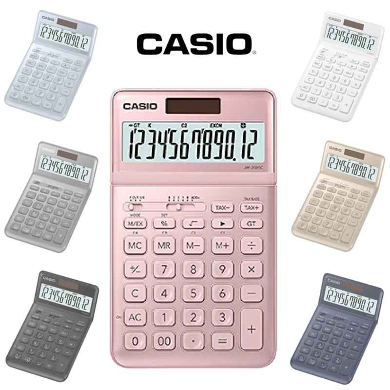 卡西歐CASIO香檳12位數計算機JW-200SC,限時6.9折,請把握機會搶購!