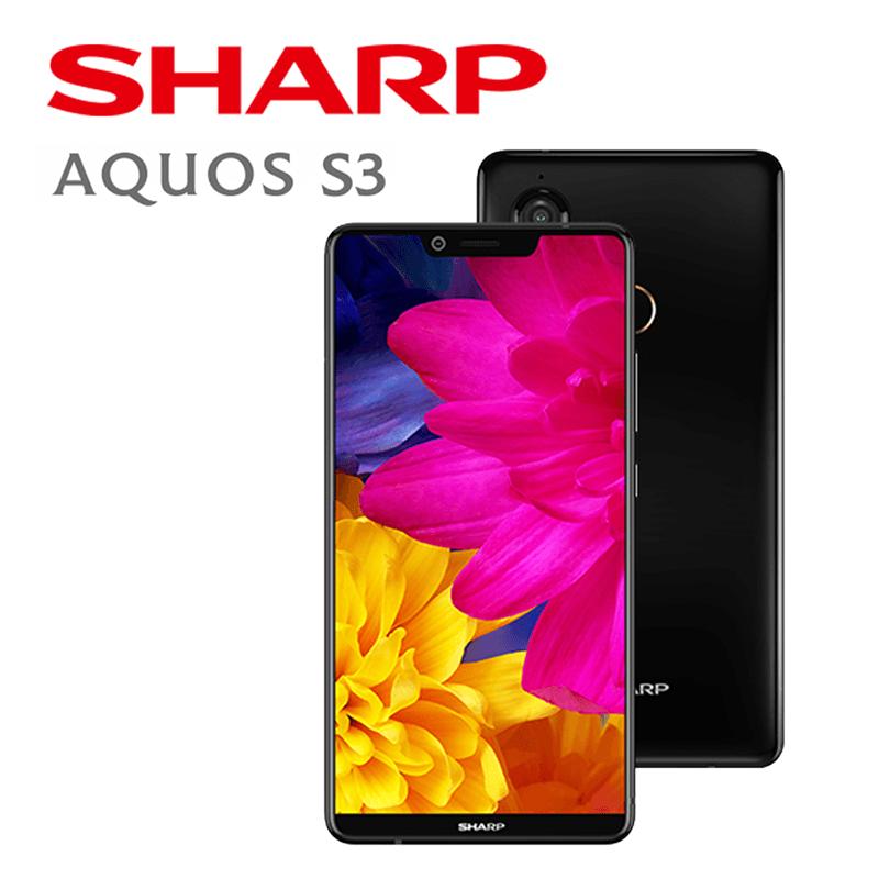 Sharp全螢幕6吋雙卡機S3,限時8.8折,請把握機會搶購!