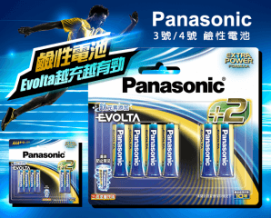 Panasonic Evolta電池組