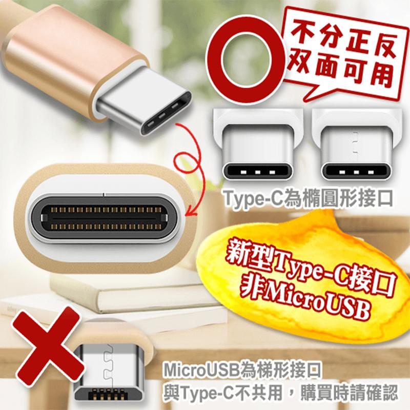 Type-C鋁合金傳輸充電線,限時破盤再打82折!