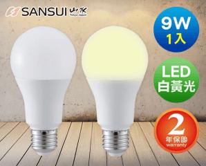 SANSUI山水LED超廣角球燈泡/MA2W04-6/MA2S04-6,今日結帳再打85折