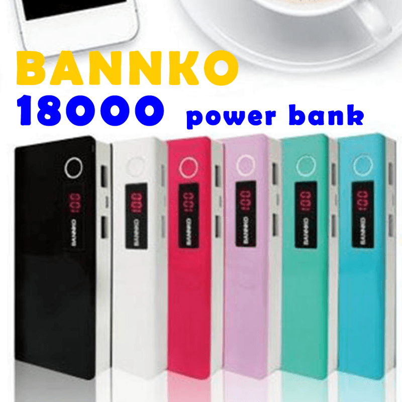 bannko LED雙USB大容量行動電源M8,限時破盤再打82折!