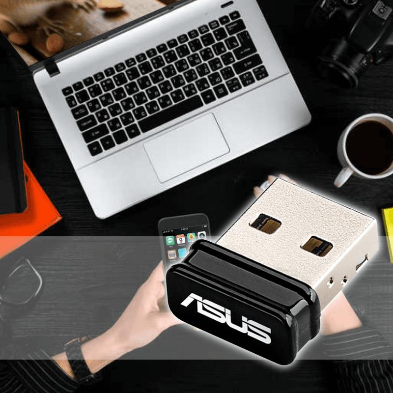 ASUS华硕NANO USB无线网卡USB-N10 NANO,限时9.0折,请把握机会抢购!