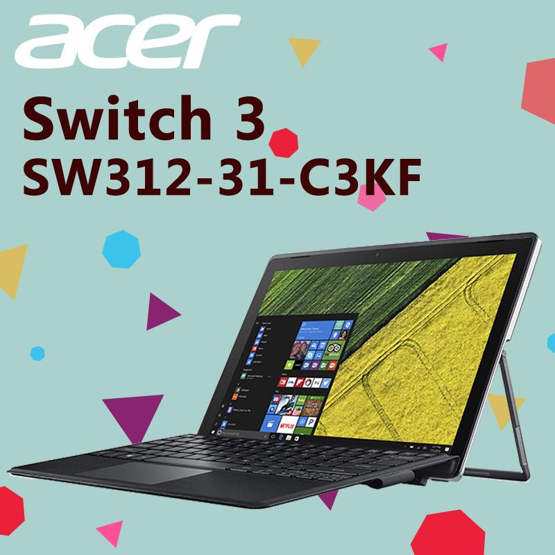 ACER宏碁二合一觸控手寫筆電SW312-31-C3KF,限時9.7折,請把握機會搶購!