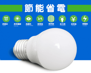 KAOS 8W廣角型LED燈泡,限時6.0折,今日結帳再享加碼折扣