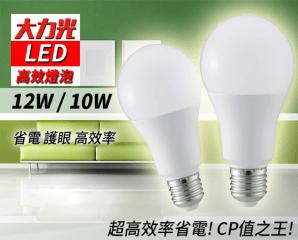 大力光高效能LED燈泡,限時3.5折,今日結帳再享加碼折扣