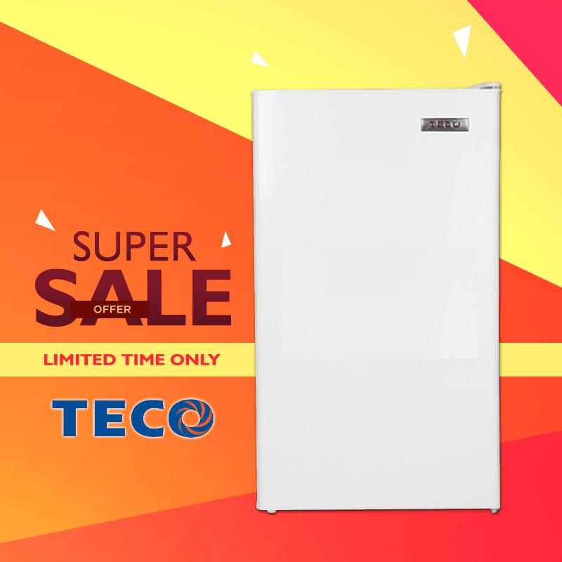 TECO東元一級定頻單門電冰箱R1091W,本檔全網購最低價!
