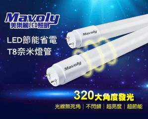 LED省電長效型奈米燈管,限時4.9折,今日結帳再享加碼折扣