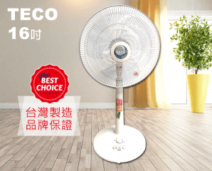 TECO東元定時電風扇XYFXA1601J,今日結帳再打88折